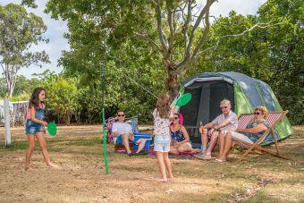 Tent Site Unpowered