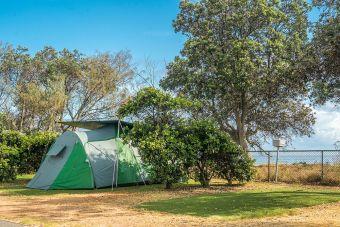 Beachfront Tent Site