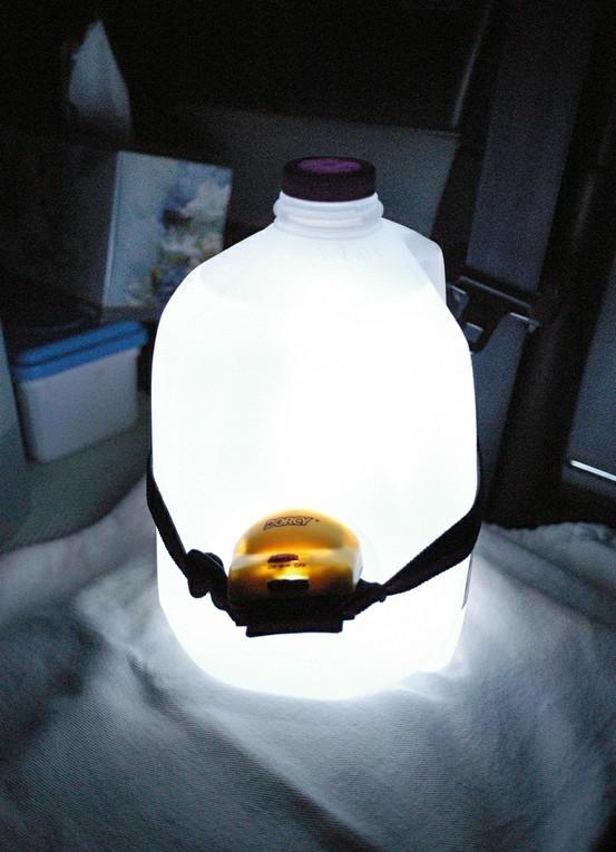 DIY camping light