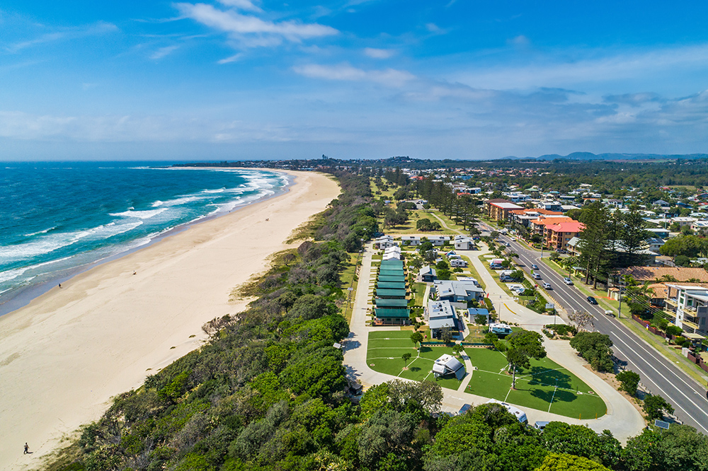 Kingscliff North - Aerial