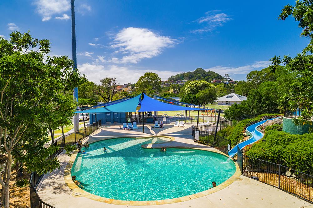 Swimming Pool Aerial