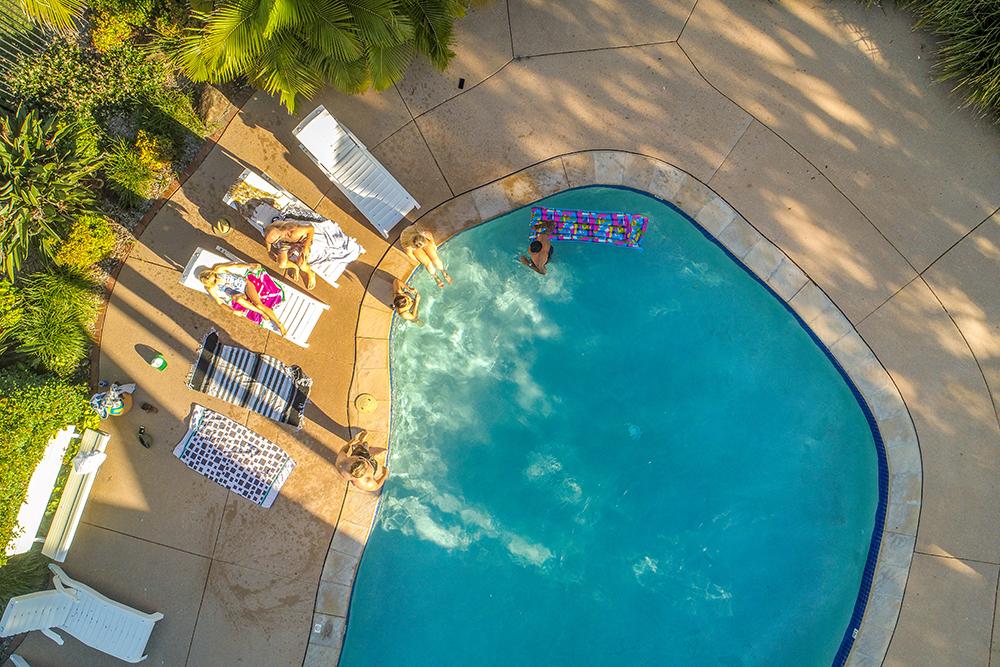 aerial swimming pool 1
